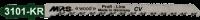 5 MPS CV Stichsägeblätter 3101-KR - Stichsägeblätter