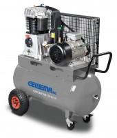 GEWEMA Mobiler Kolben-Kompressor mit 90 Liter Druckluftbehälter MK113-90-10