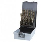 Ruko Spiralbohrer-Satz HSSE Co5 25tlg. 1-13mm DIN338 Typ VA