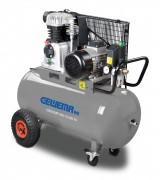 Gewema Mobiler Kolben-Kompressor mit 90 Liter Druckluftbehälter MK 119-90-10