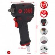 KS-Tools Hochleistungs-Druckluft-Schlagschrauber miniMonster