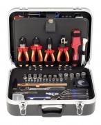 "PROJAHN Elektro-Werkzeug-Koffer Nr. 8683 128tlg. 1/4"" + 1/2"""