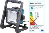 Makita DEADML805 Baustrahler 14,4-18 V und 230 V