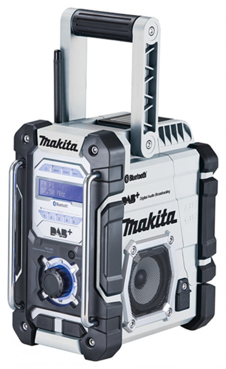 MAKITA Akku-Baustellenradio DMR112W -Sonderedition weiß-