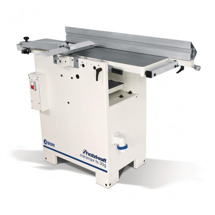HOLZKRAFT minimax FS30g Abricht-/Dickenhobelmaschine 400V mit TERSA-Hobelmesser-Schnellwechselsystem