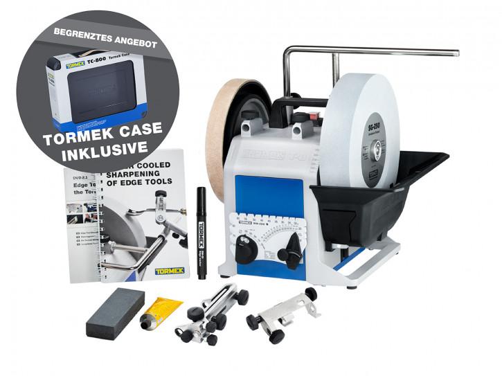 TORMEK® T8 Original Nassschleifmaschine/Schleifsystem + TC-800 Case