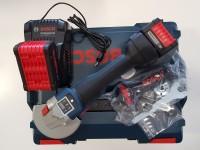 Bosch Akku-Winkelschleifer GWS18V-125SC