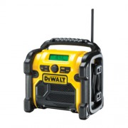 DeWalt Akku-Baustellenradio DCR019 mit Netzanschlusskabel