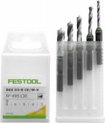 Festool Bohrerkassette BKS D 3-8 CE/W-K