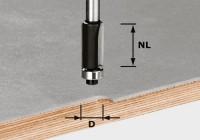 Festool Bündigfräser HW S8 D12,7/NL25