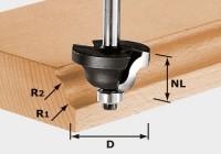 Festool Doppelradienfräser HW S8 D38,1/R6,35/R6,35