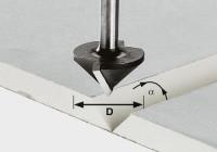Festool Gipskartonfräser HW S8 D32/90°