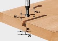 Festool T-Nutfräser HW S8 D10,5/NL13