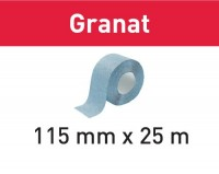 Festool Schleifrolle 115x25m P80 GR Granat