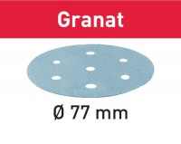 Festool Schleifscheibe STF D77/6 P80 GR/50 Granat