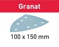Festool Schleifblatt STF DELTA/7 P40 GR/10 Granat