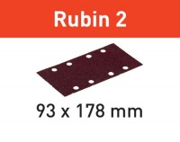 Festool Schleifstreifen STF 93X178/8 P60 RU2/50 Rubin 2
