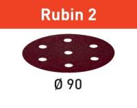 Festool Schleifscheibe STF D90/6 P150 RU2/50 Rubin 2