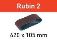 Festool Schleifband L620X105-P80 RU2/10 Rubin 2