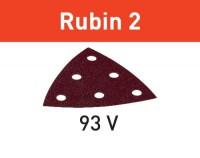 Festool Schleifblatt STF V93/6 P180 RU2/50 Rubin 2