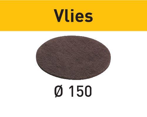 Ø 150 mm 10 Schleifvliese für Exzenterschleifer Exenterschleifer