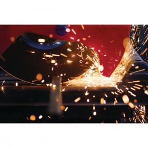 METALLKRAFT Metall-Trockenschneider MTS356 Set incl. HM-Sägeblatt Z80 für Stahl und Maschinenuntergestell